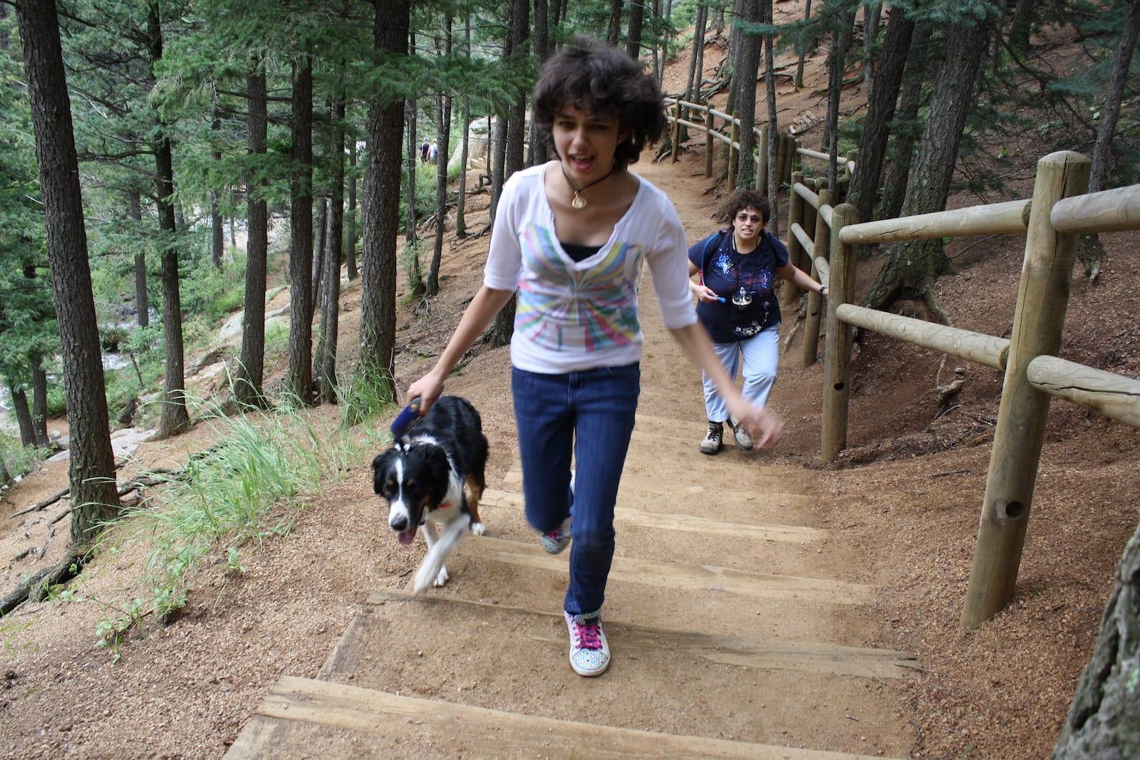 Hiking to Helen Hunt Falls in Colorado Springs, Colorado