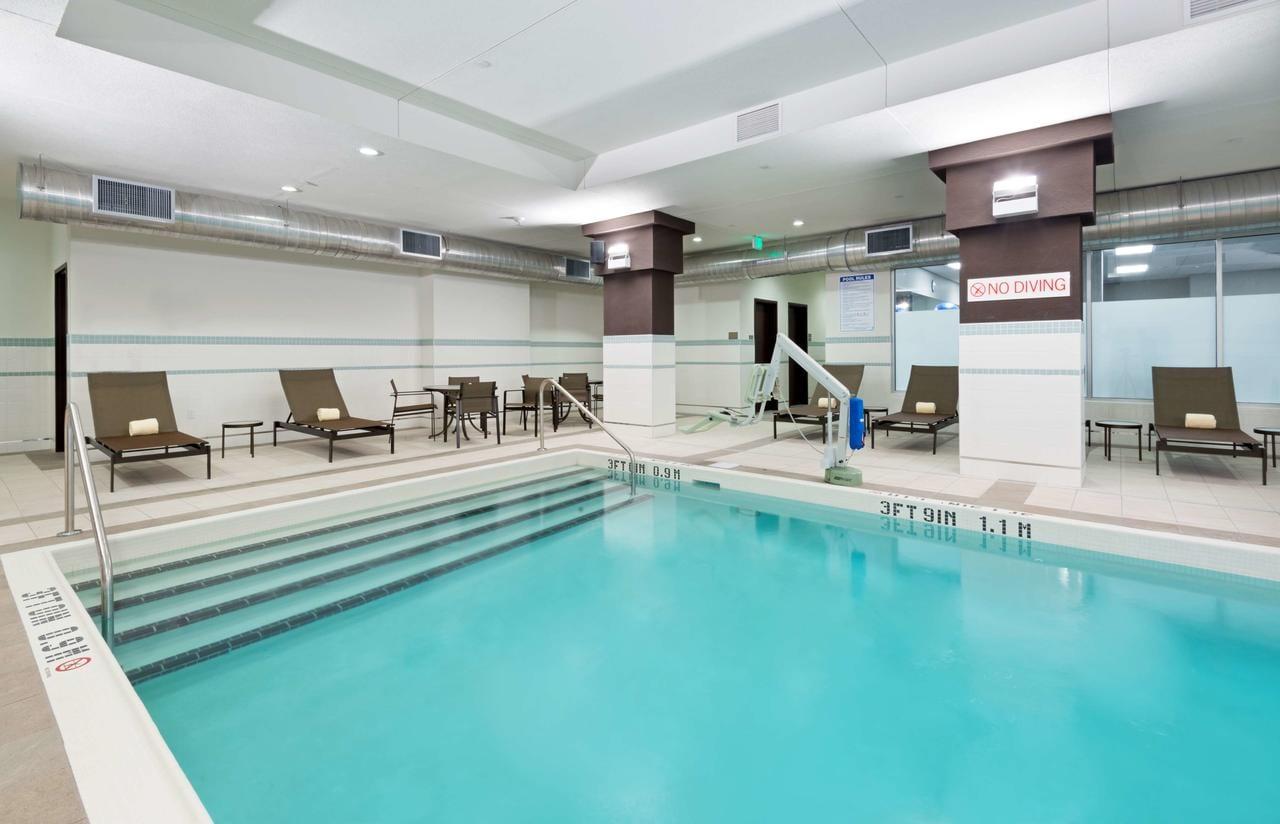 Swimming pool at Hyatt House Denver/Downtown, CO