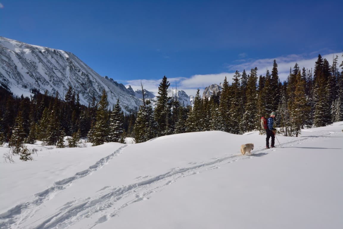 Indian Peaks Wilderness, from Brainard Lake Recreation Area, Colorado