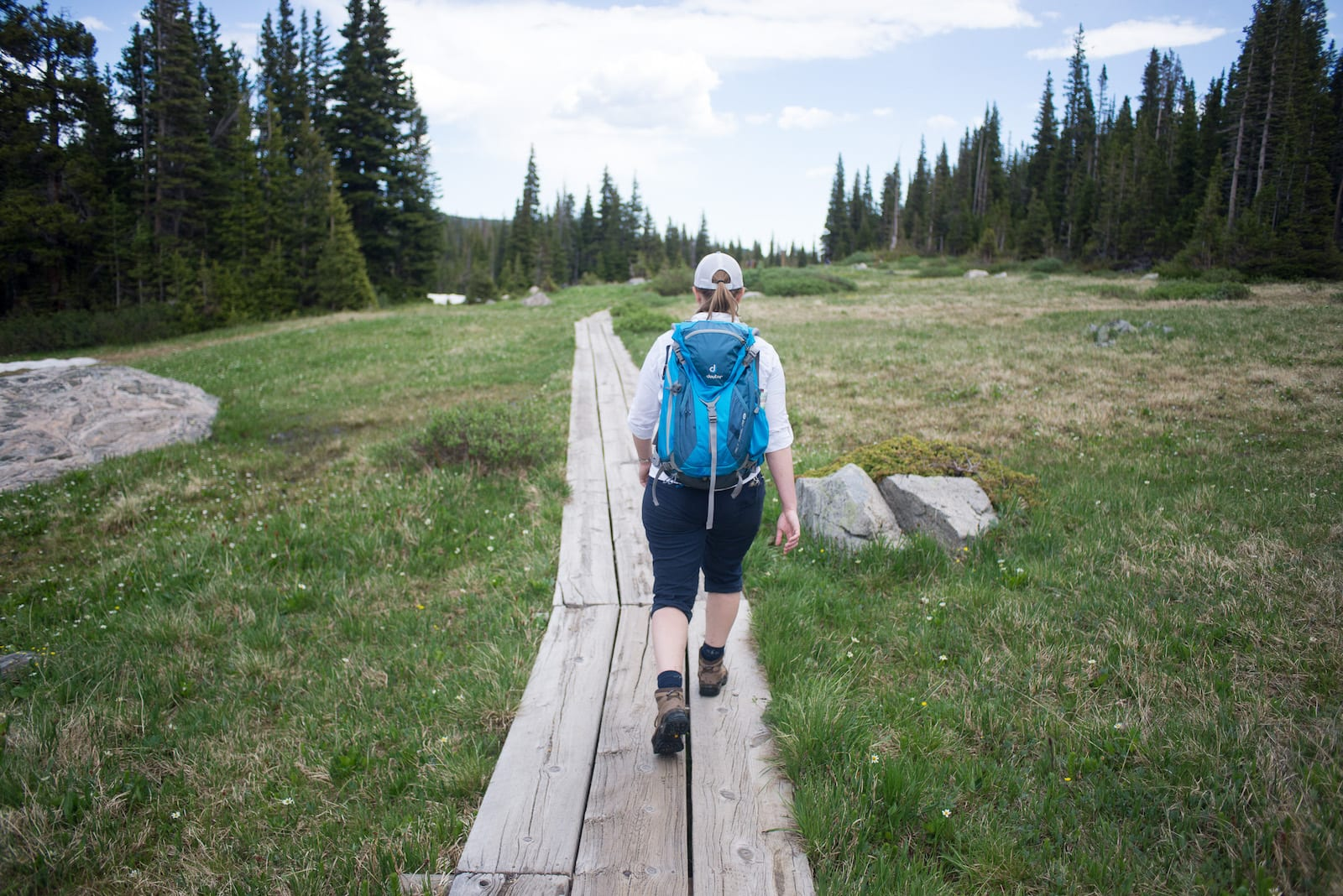 Hiking at Jean Lunning Trail, CO