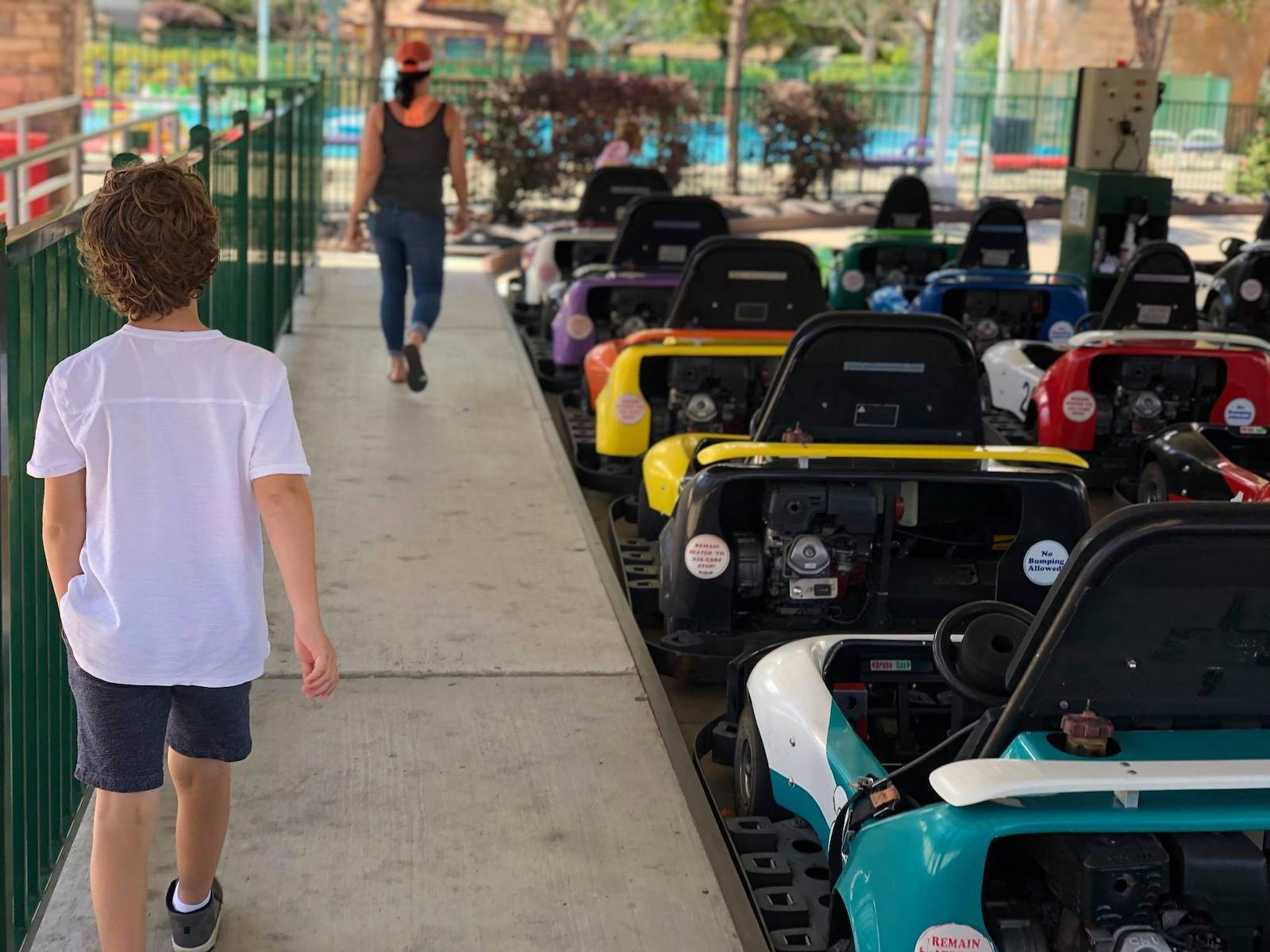 Kart Racetrack in Boondocks Fun Center, CO