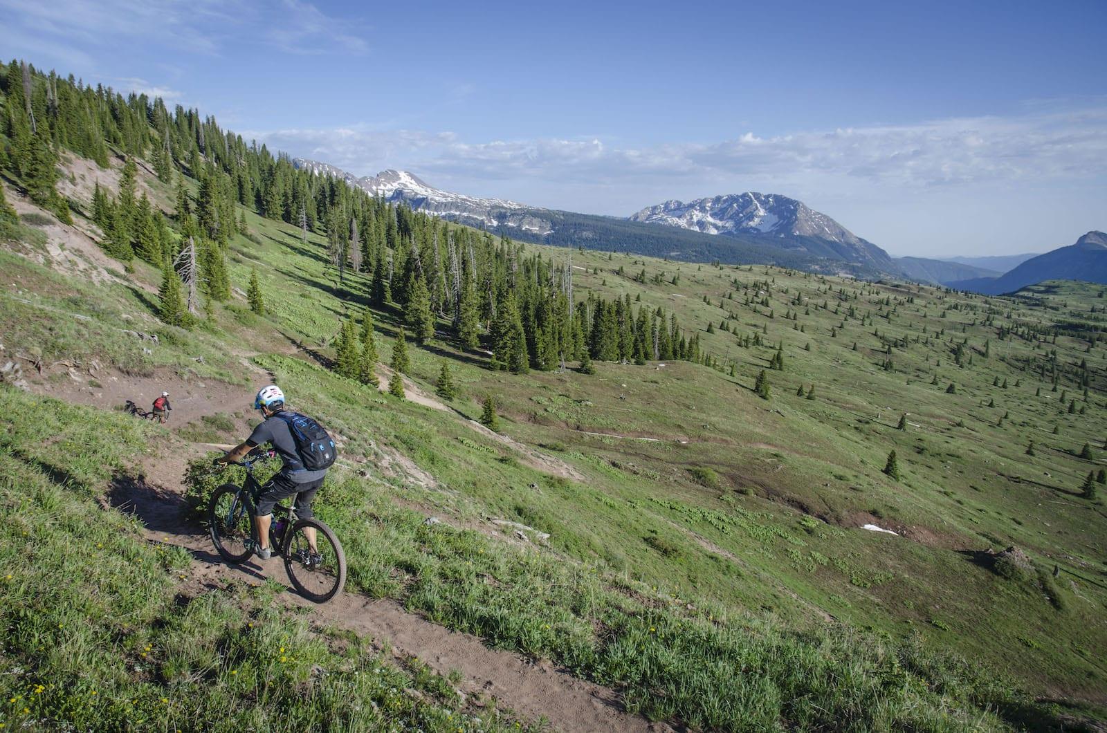 Biking at Molas Pass, CO
