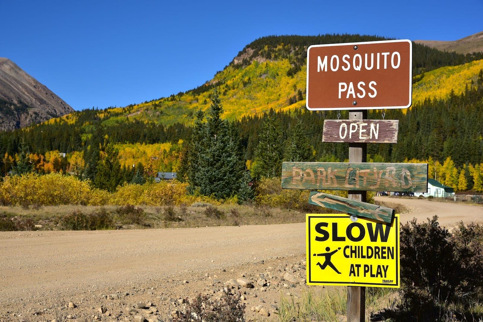 Mosquito Pass, CO