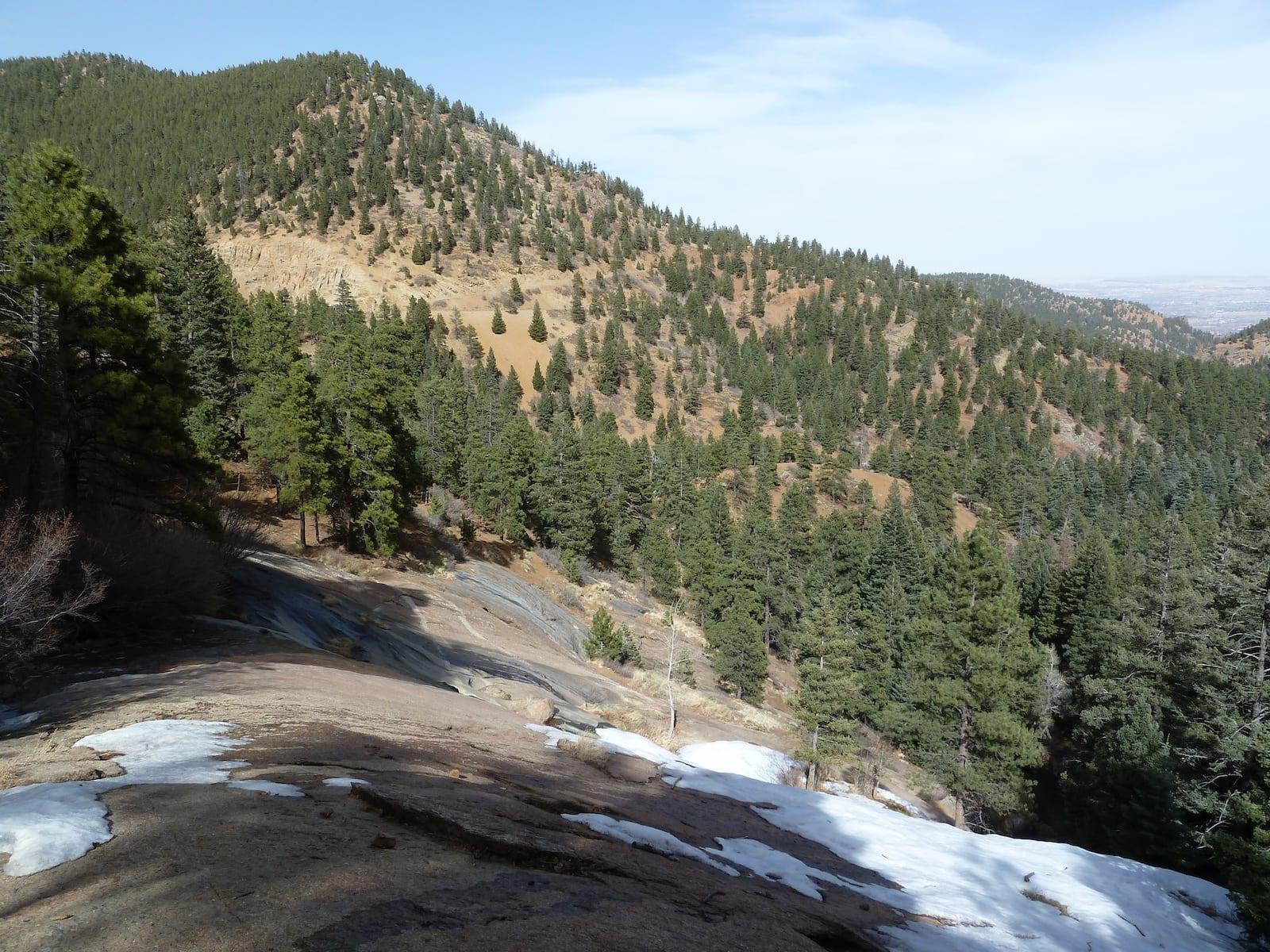 North Cheyenne Canon Park in Colorado Spring