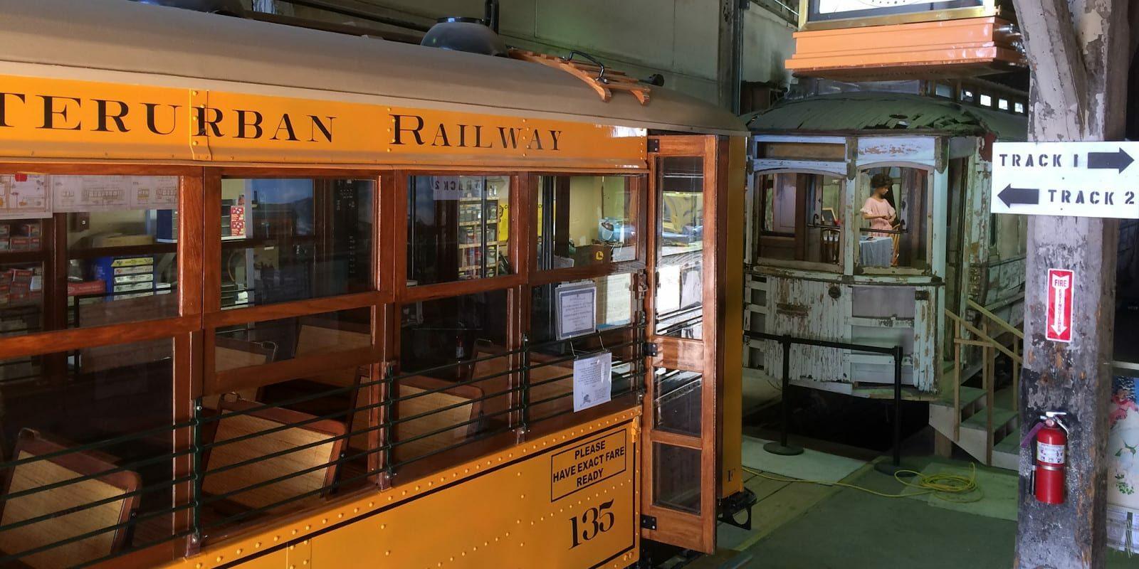 Pikes Peak Trolley Museum in Colorado Springs