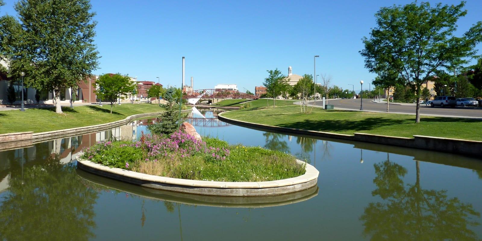 Pueblo Riverwalk, CO