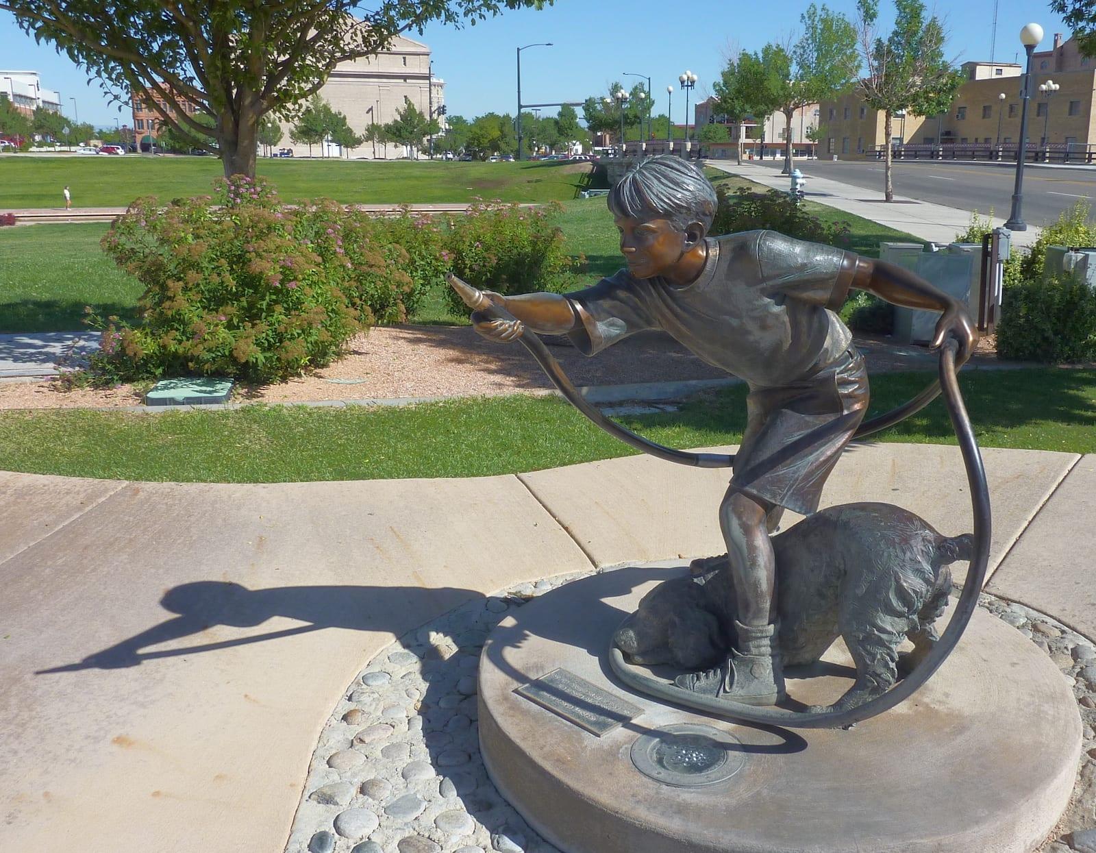 Pueblo Riverwalk Waterboy, CO