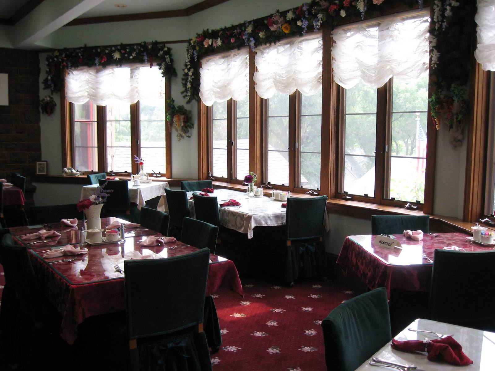 Queen Parlour's Tearoom at Miramont Castle Museum, CO