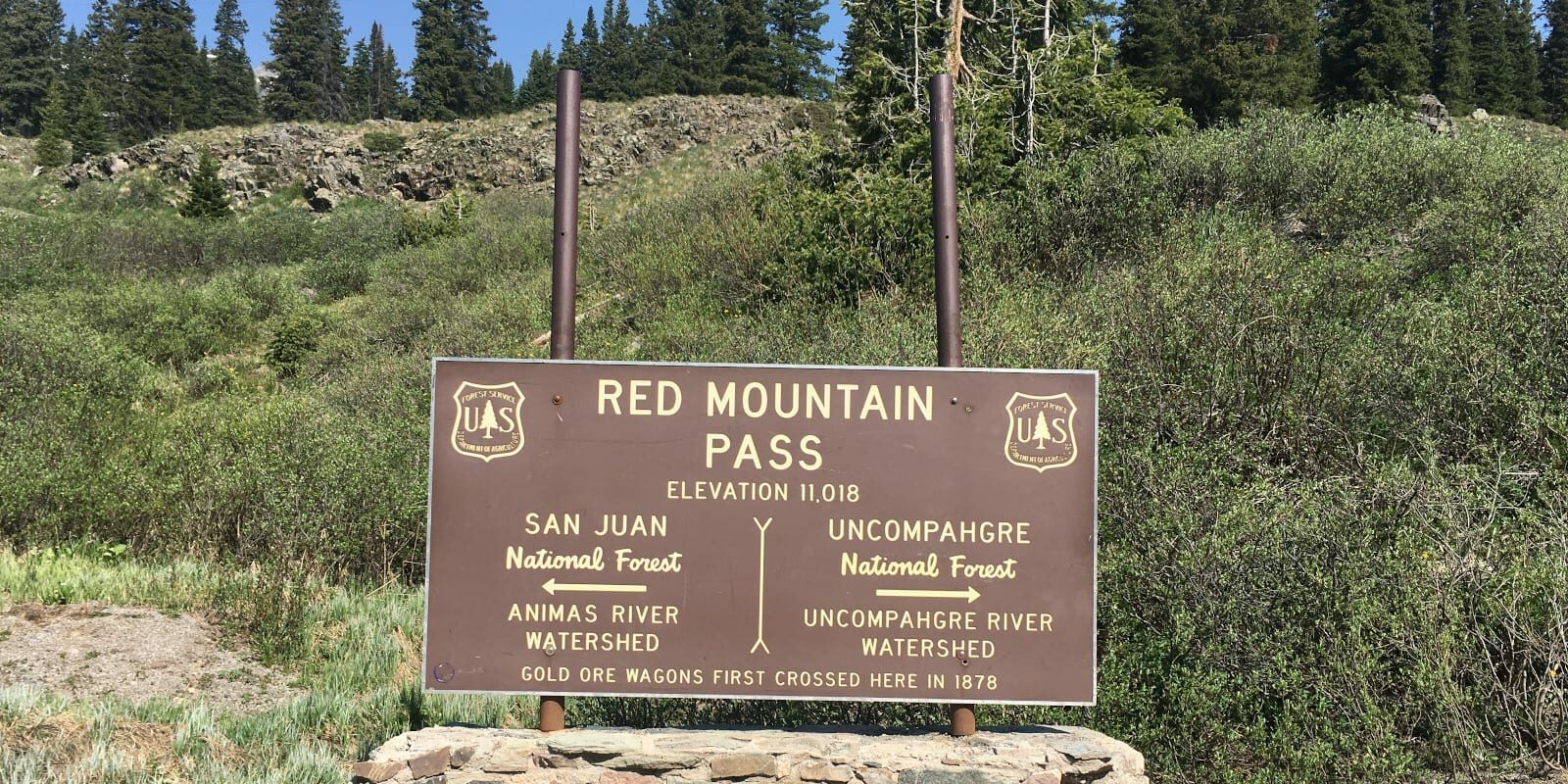 Red Mountain Pass, CO