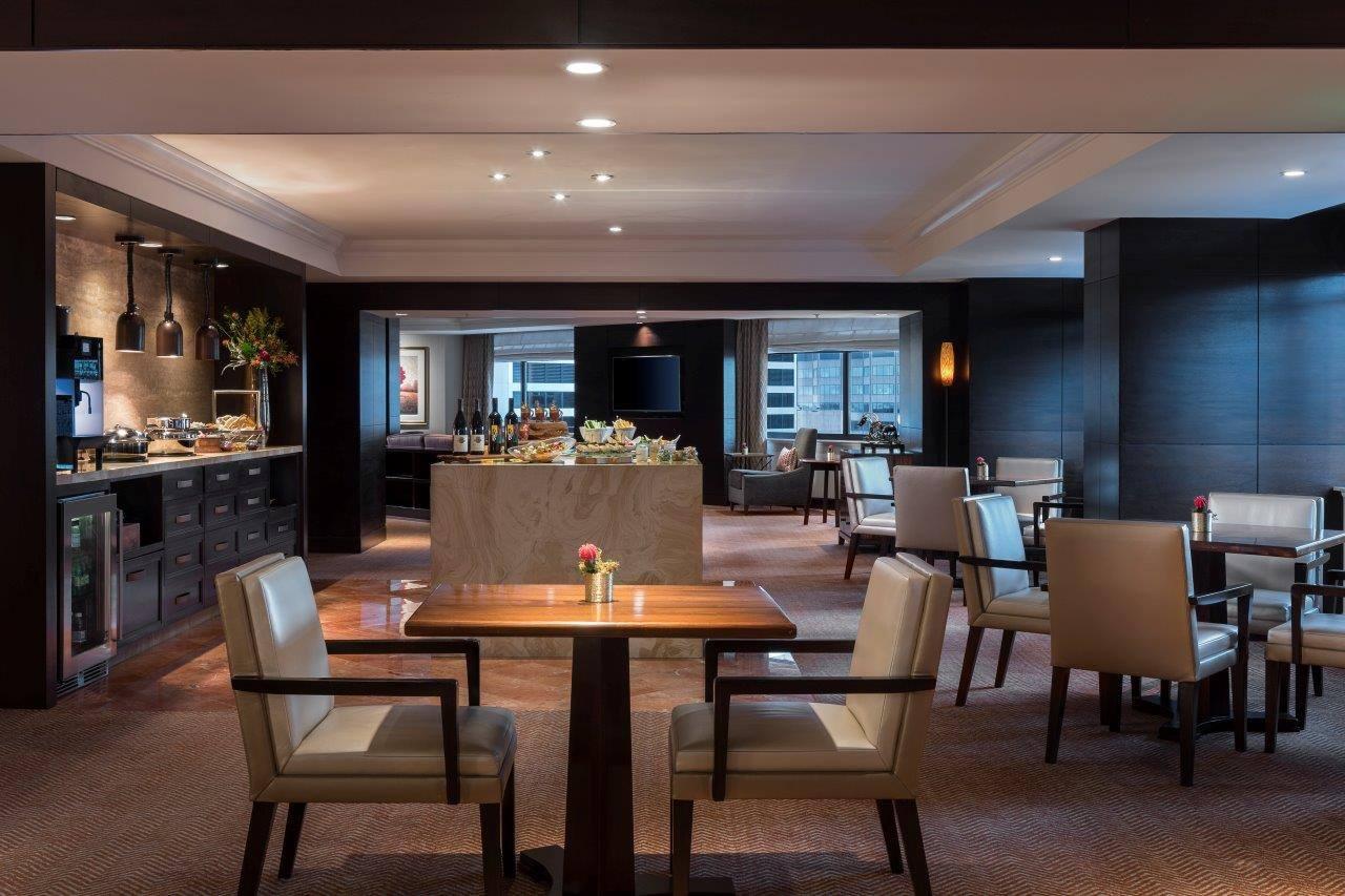 Dining choice at Ritz-Carlton Denver, CO