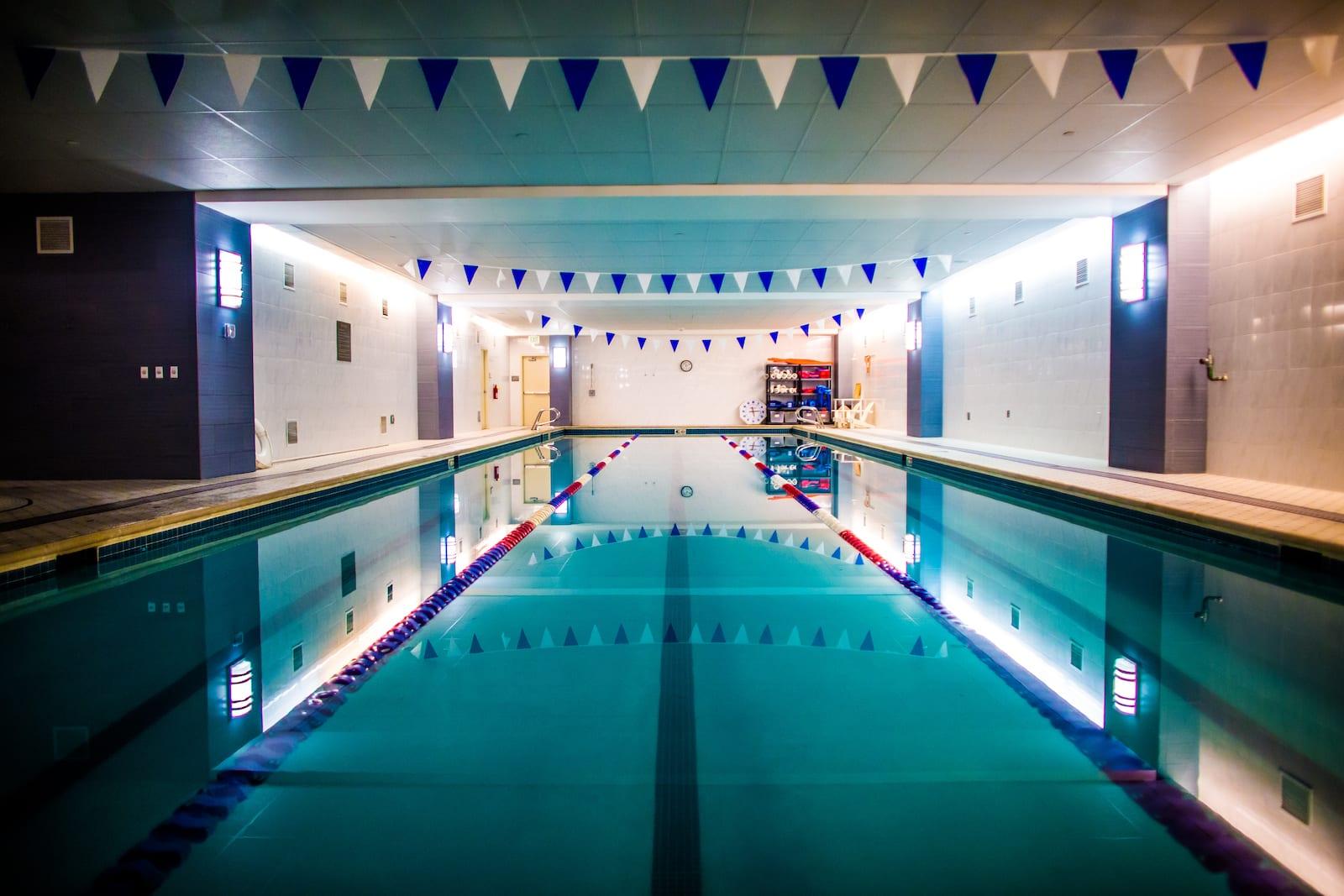 Swimming pool at Ritz-Carlton Denver, CO