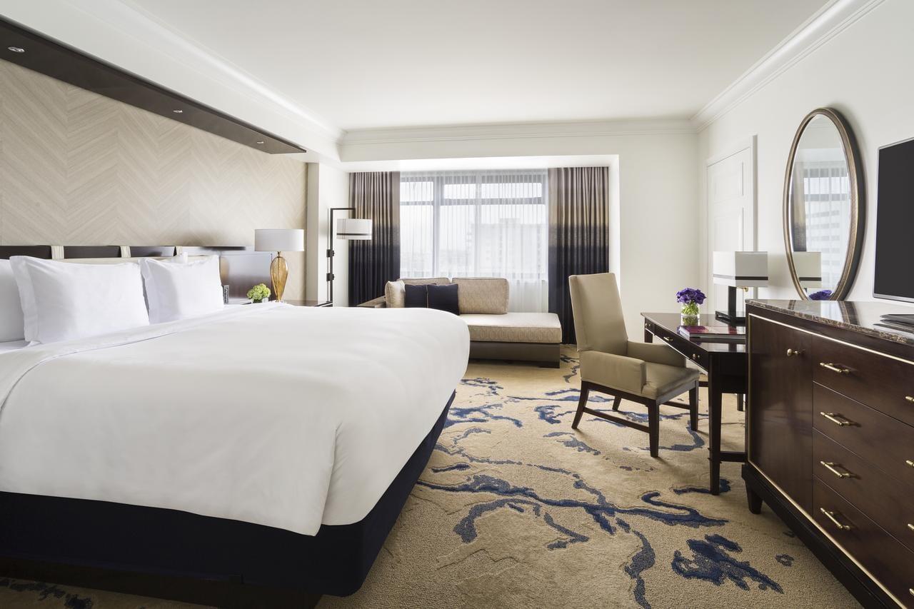 Hotel room at Ritz-Carlton Denver, CO