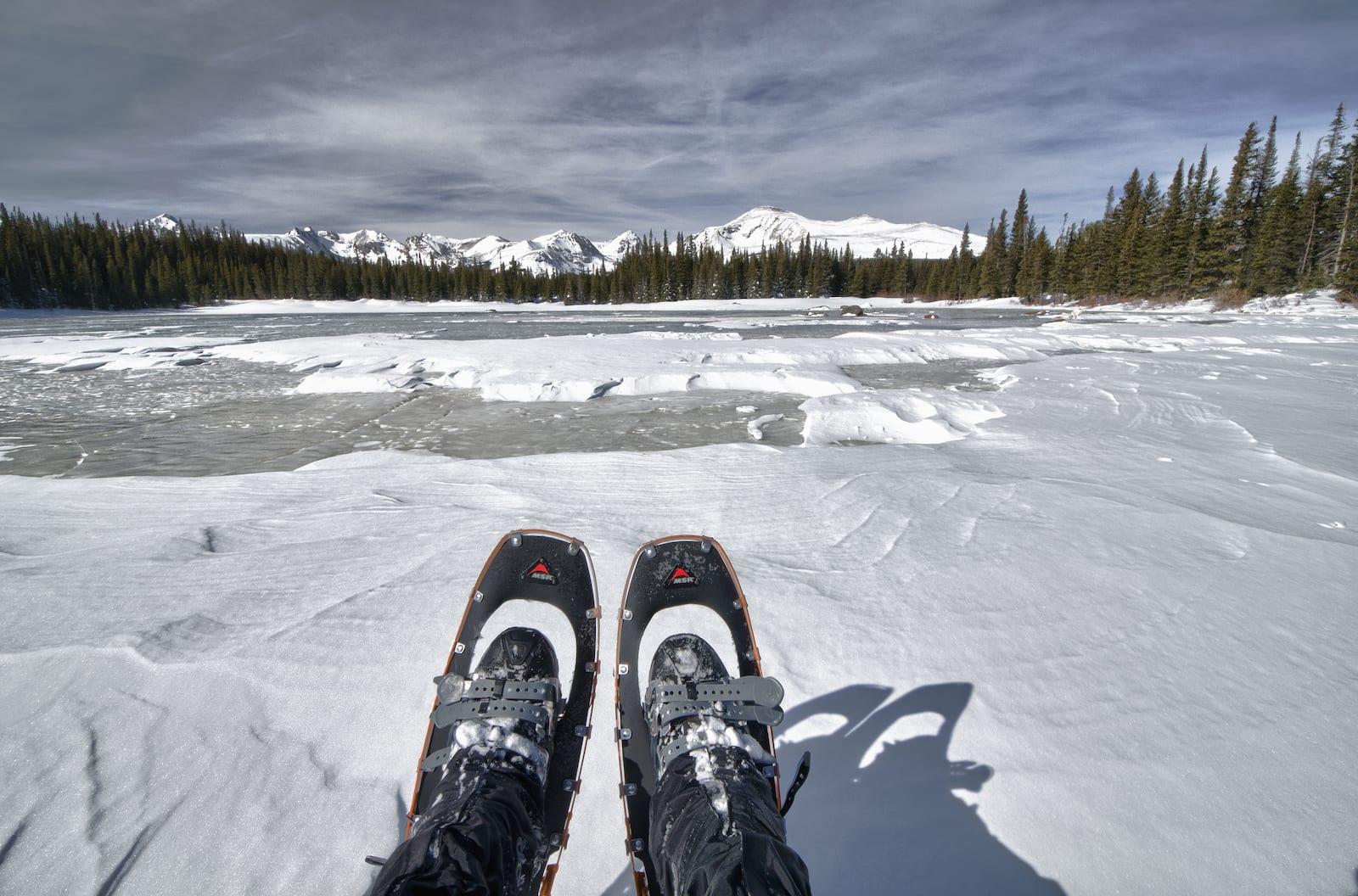 Snowshoeing to Brainard Lake, Colorado
