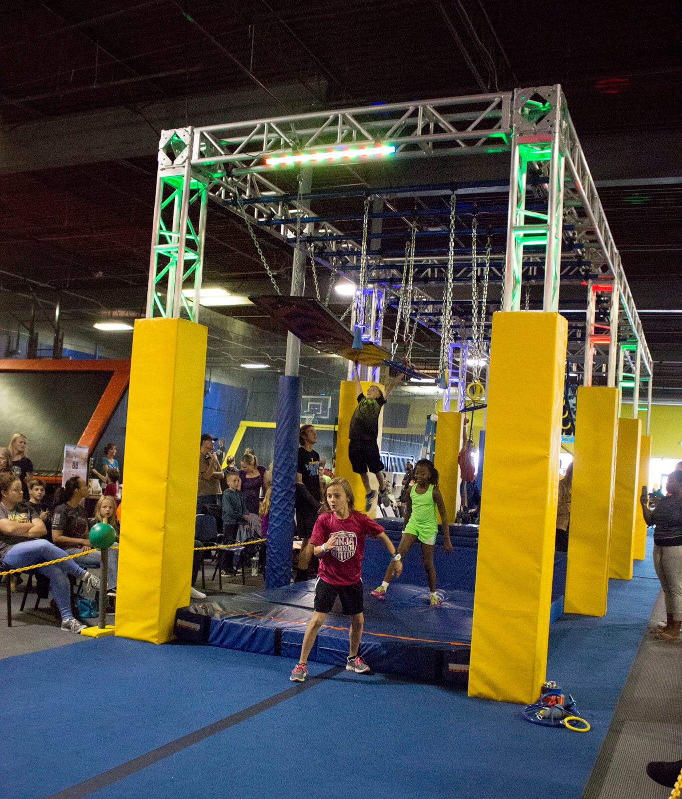 Ninja Warrior Course in Springs Adventure Park, CO
