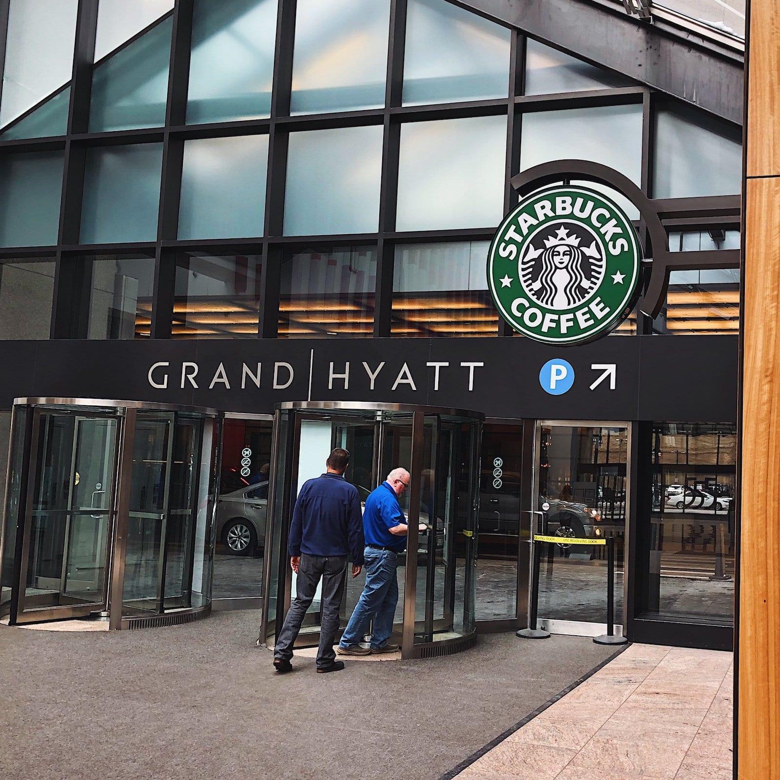 Starbucks coffee at Grand Hyatt Denver, Co