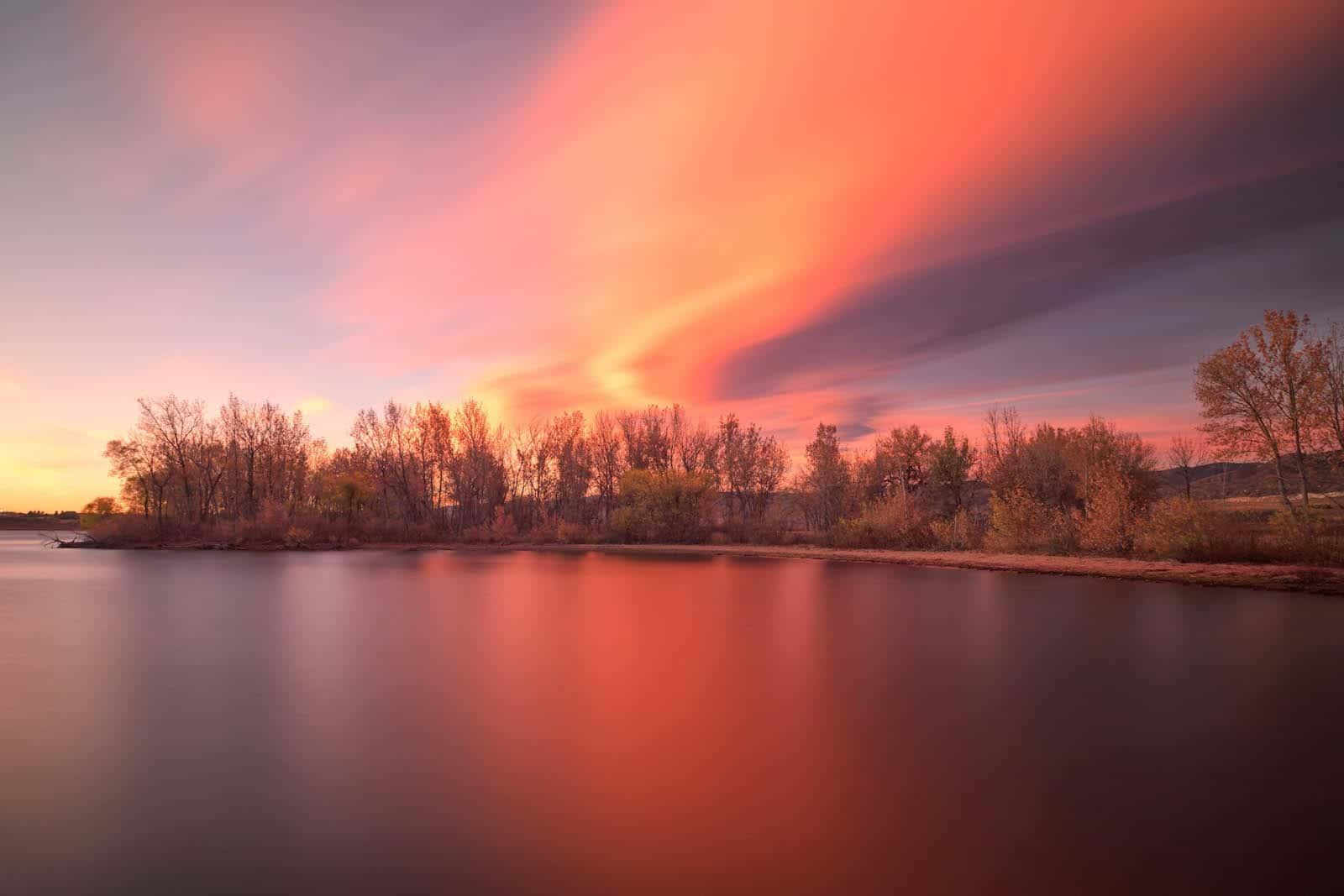 Sunrise, Lake Chatfield, CO