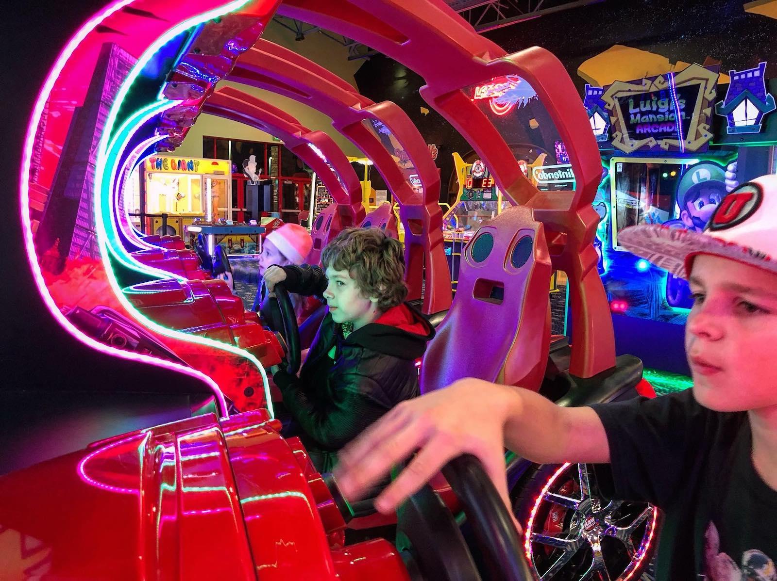The Arcade in Boondocks Fun Center, CO