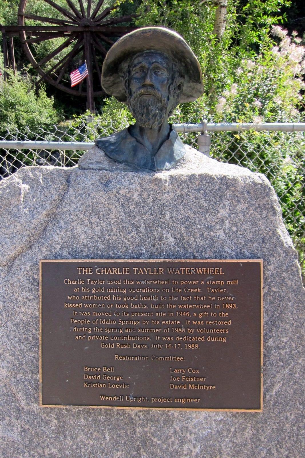 The Charlie Tayler Water Wheel, CO