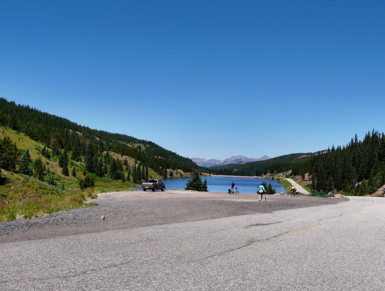 Vail Pass bike path, CO