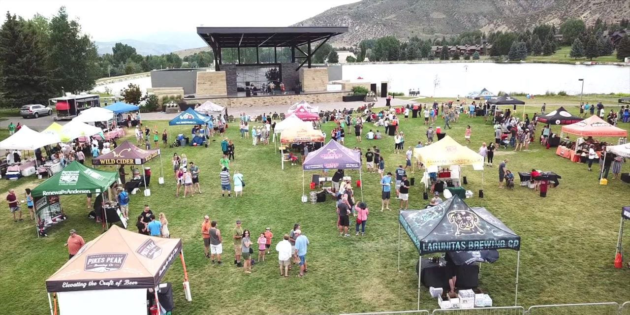 Vail Valley Brew Fest in Avon, CO