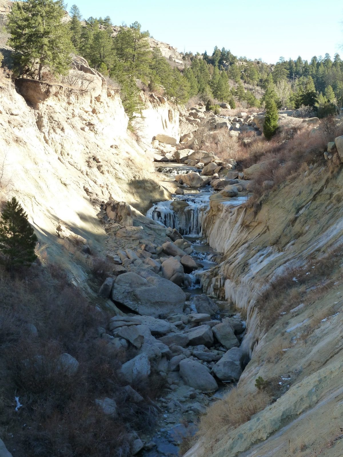 Waterfall Hike at Castlewood Canyon State Park, CO