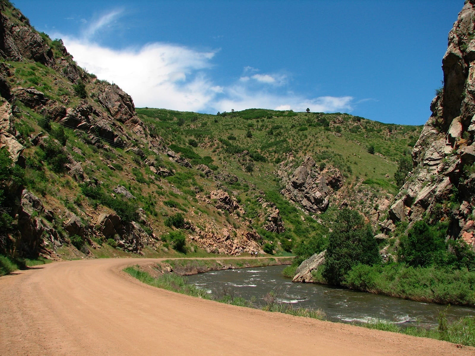 The Waterton Canyon, CO