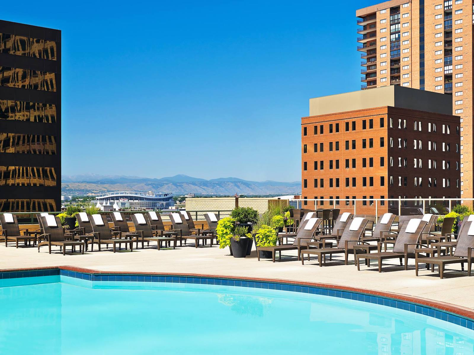 Swimming pool at Westin Denver Downtown, CO