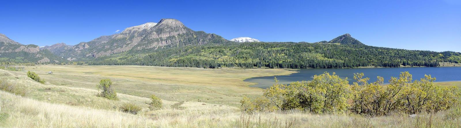 Williams Creek Reservoir Panorama, CO