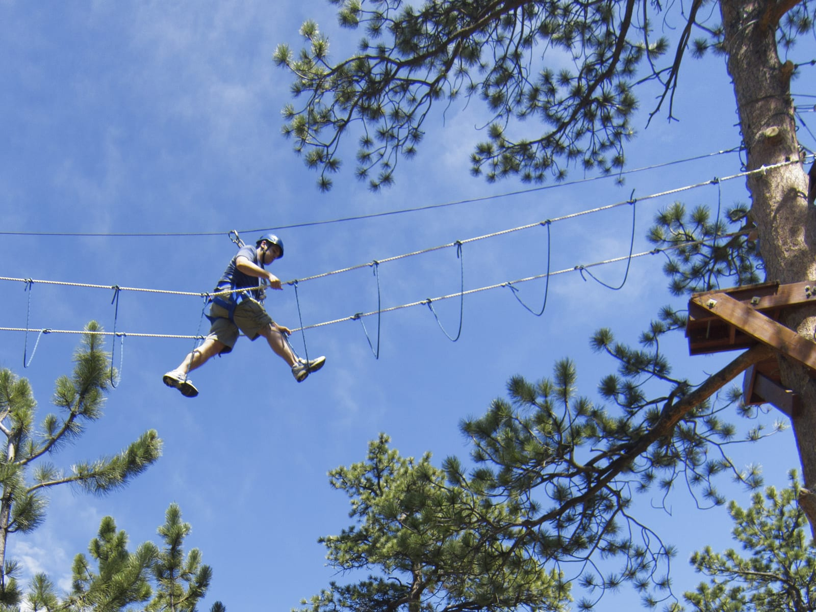 Challenge course at YMCA of the Rockies, CO
