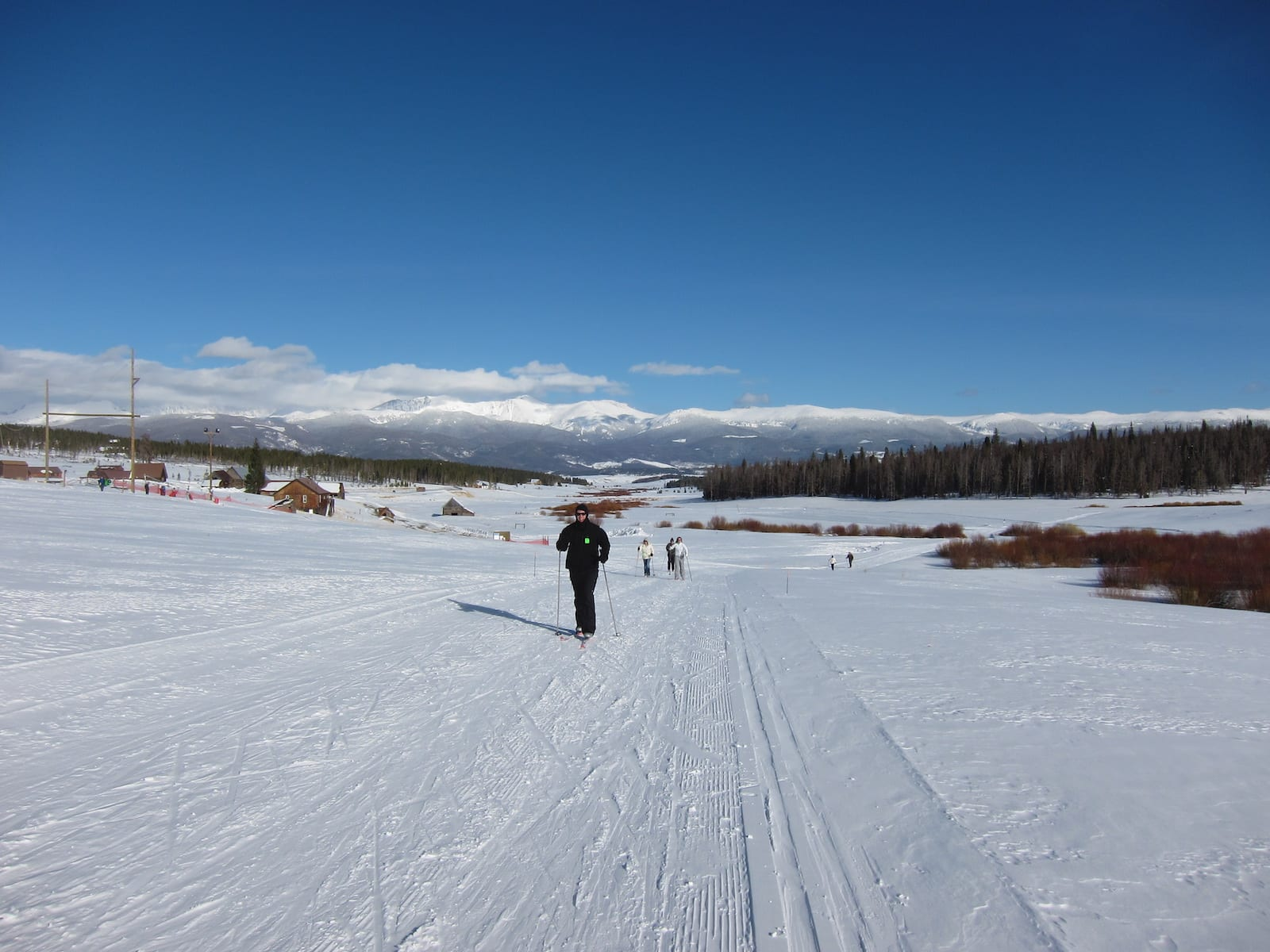 Cross country skiing at YMCA of the Rockies, CO
