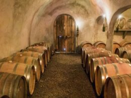 Alfred Emes Cellars Paonia CO Underground Cellar