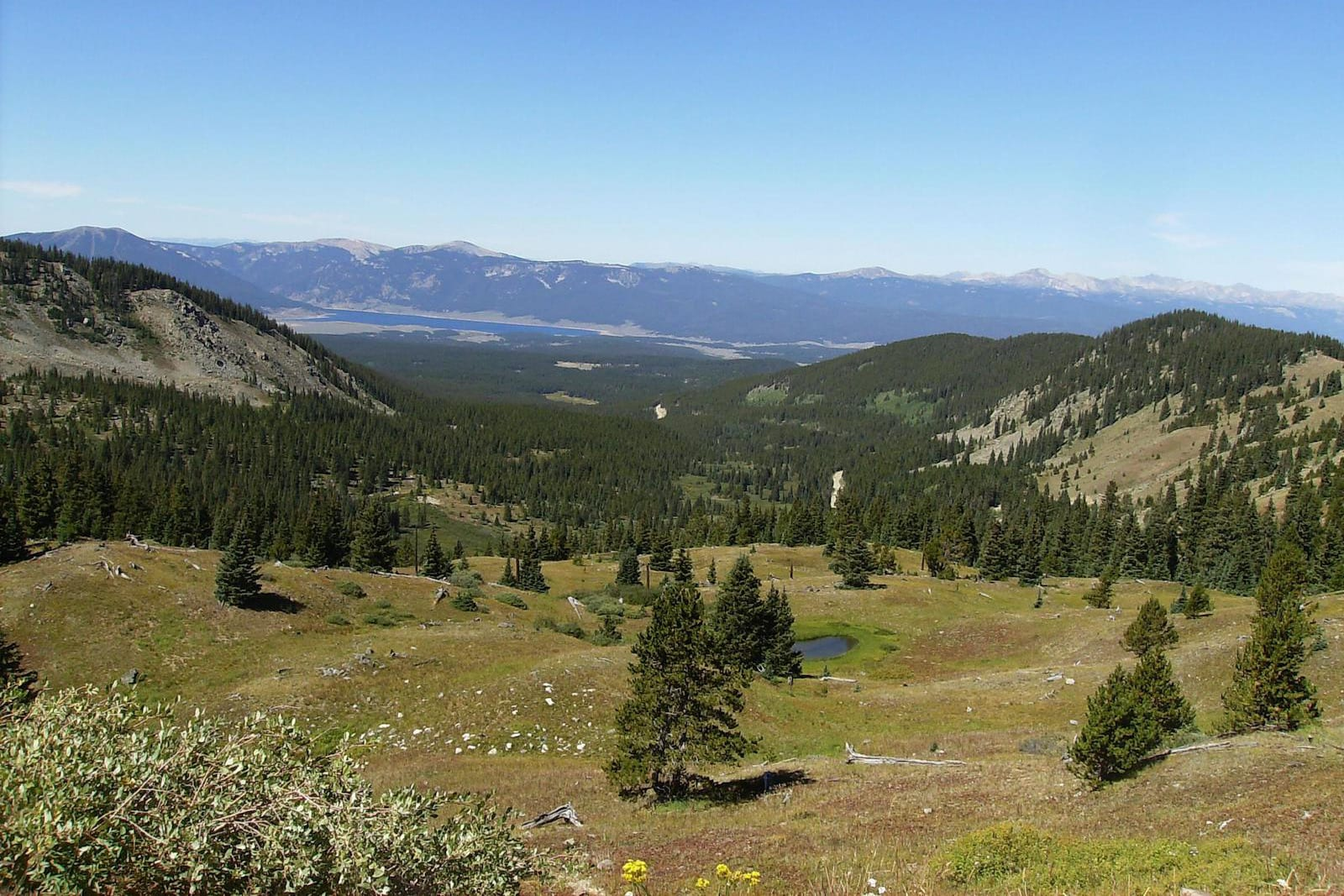 Cottonwood Pass Overlook West Gunnison National Forest Almont CO