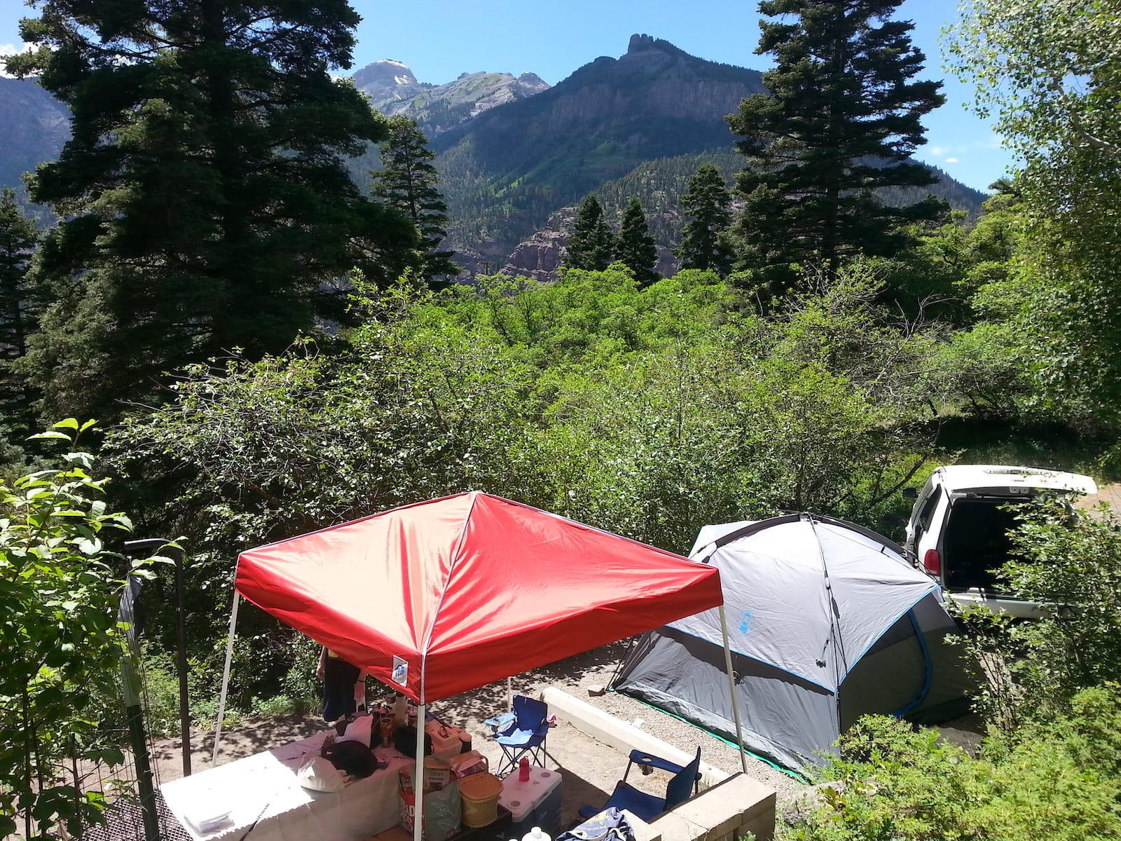 Amphitheater Campground Ouray CO