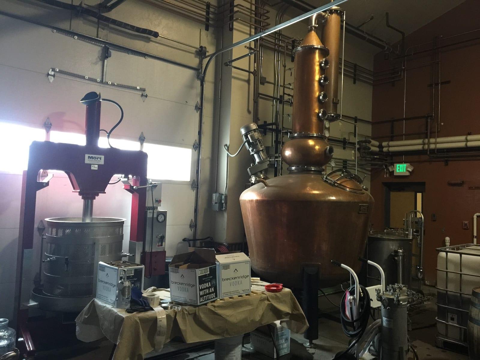 Breckenridge Distillery Tour Brew Kettle