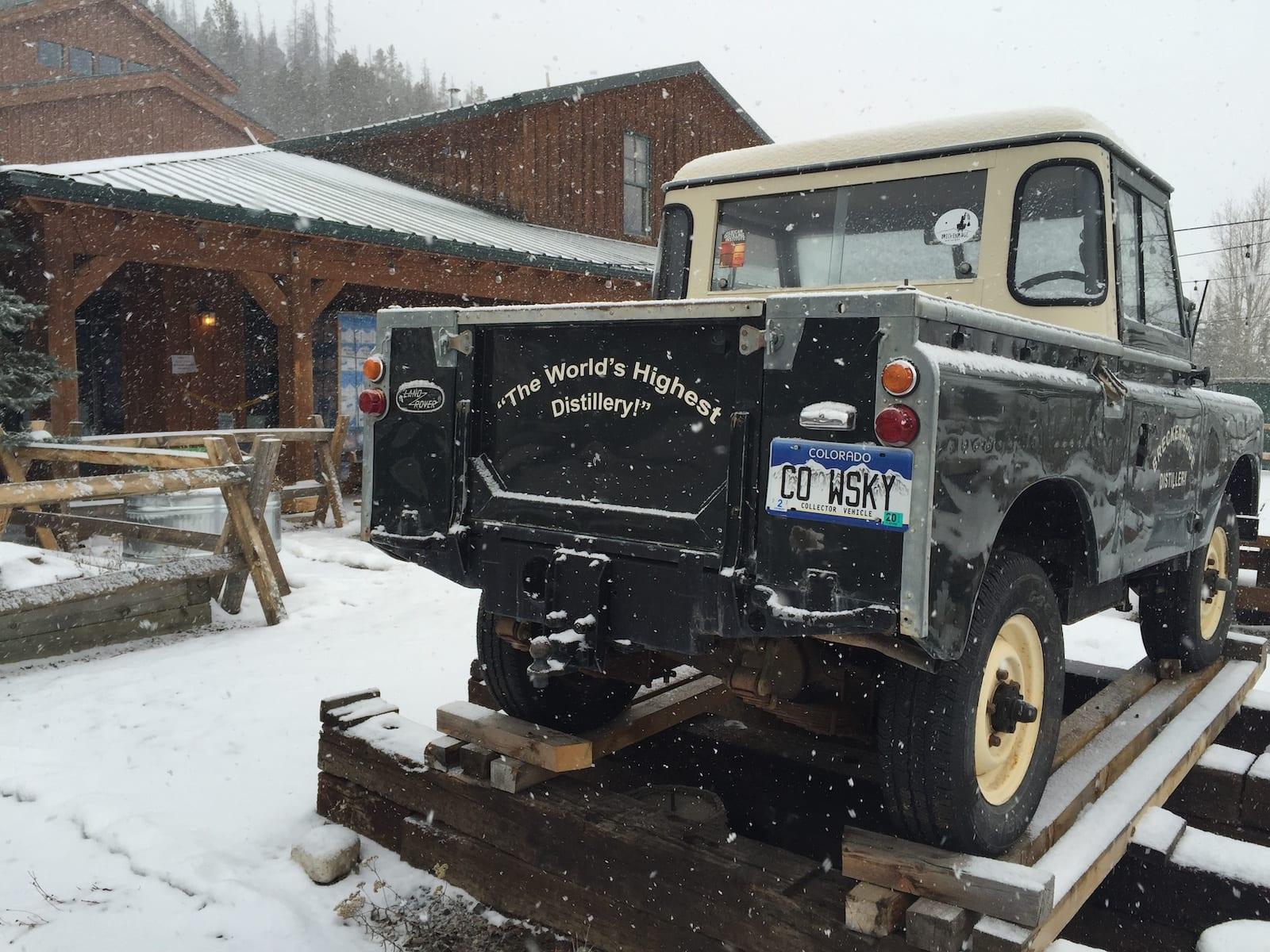 Breckenridge Distillery Tour Truck