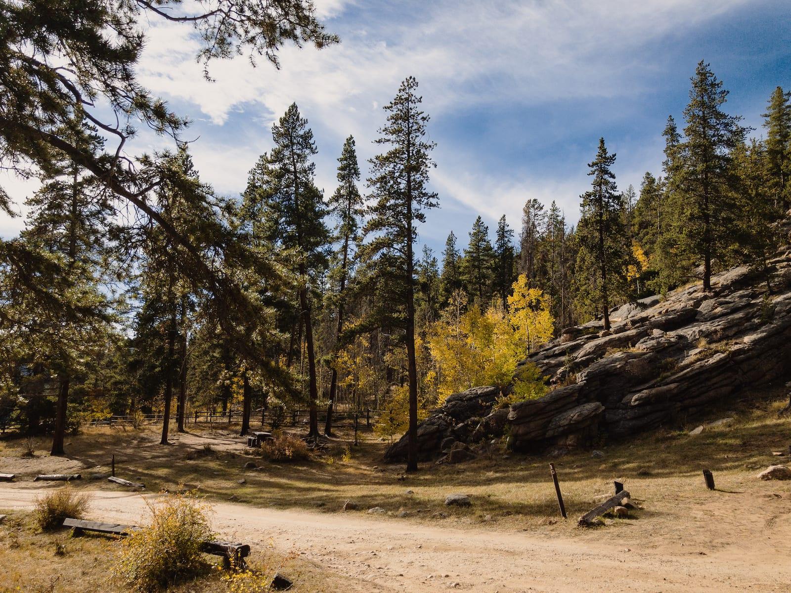 Burning Bear Campground near Bailey Colorado