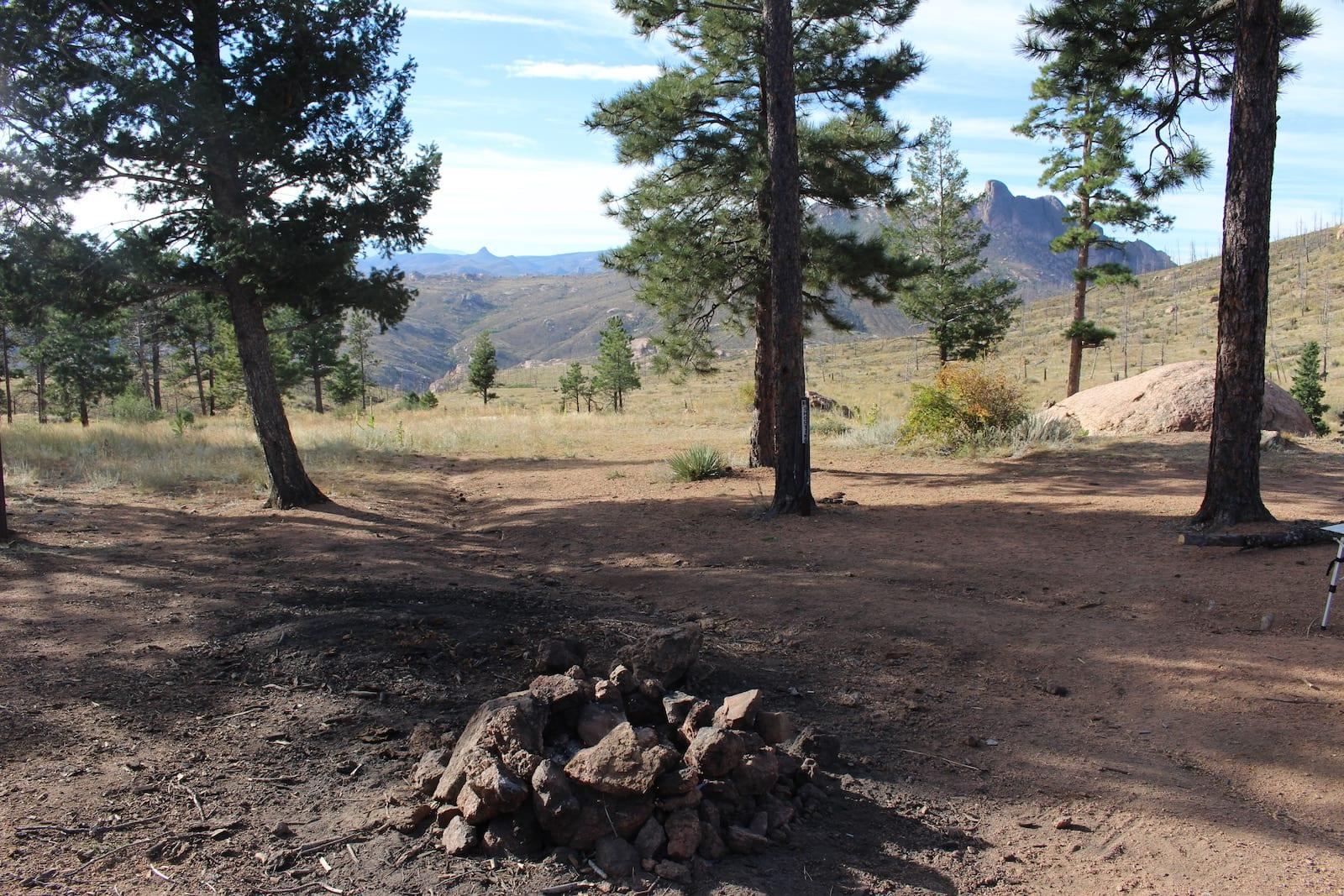 Camping Deckers CO near Cheesman Lake