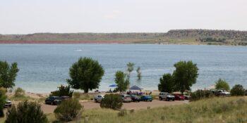 Lake Pueblo State Park Swim Beach Colorado
