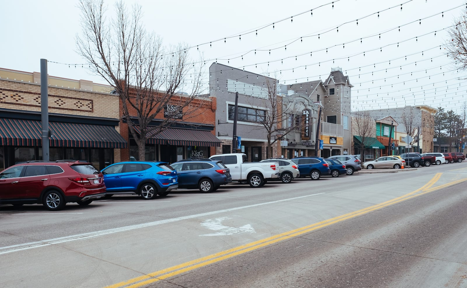 Castle Rock CO Downtown Wilcox Street