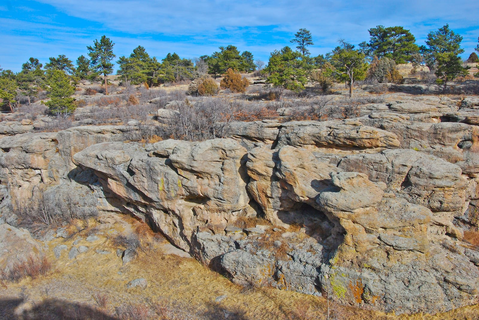 Castlewood Canyon State Park Boulders