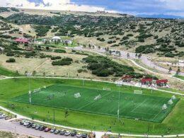 Phillip S. Miller Park Soccer Field Castle Rock CO