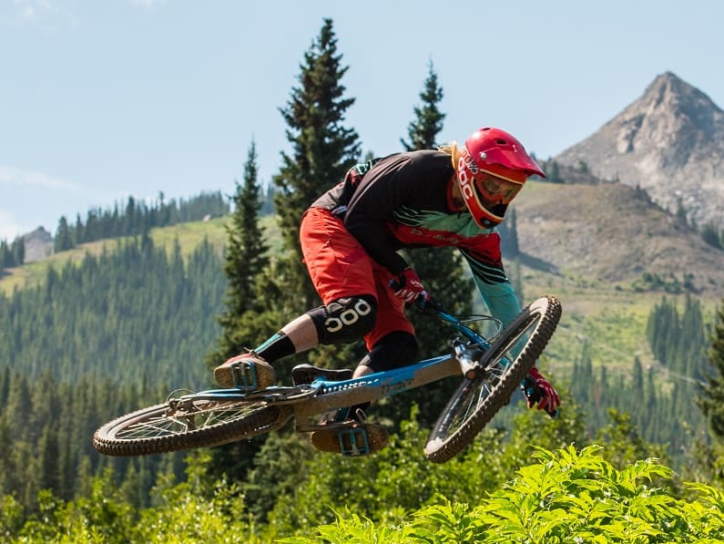 Crested Butte Mountain Bike Park Jump