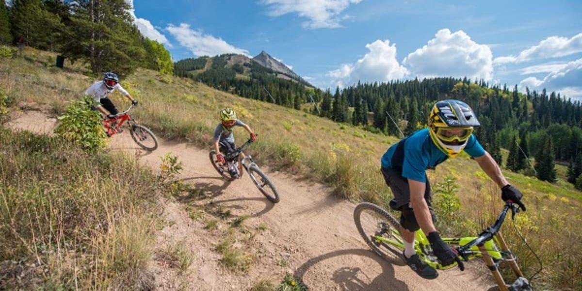 Crested Butte Mountain Bike Park Downhill Biking