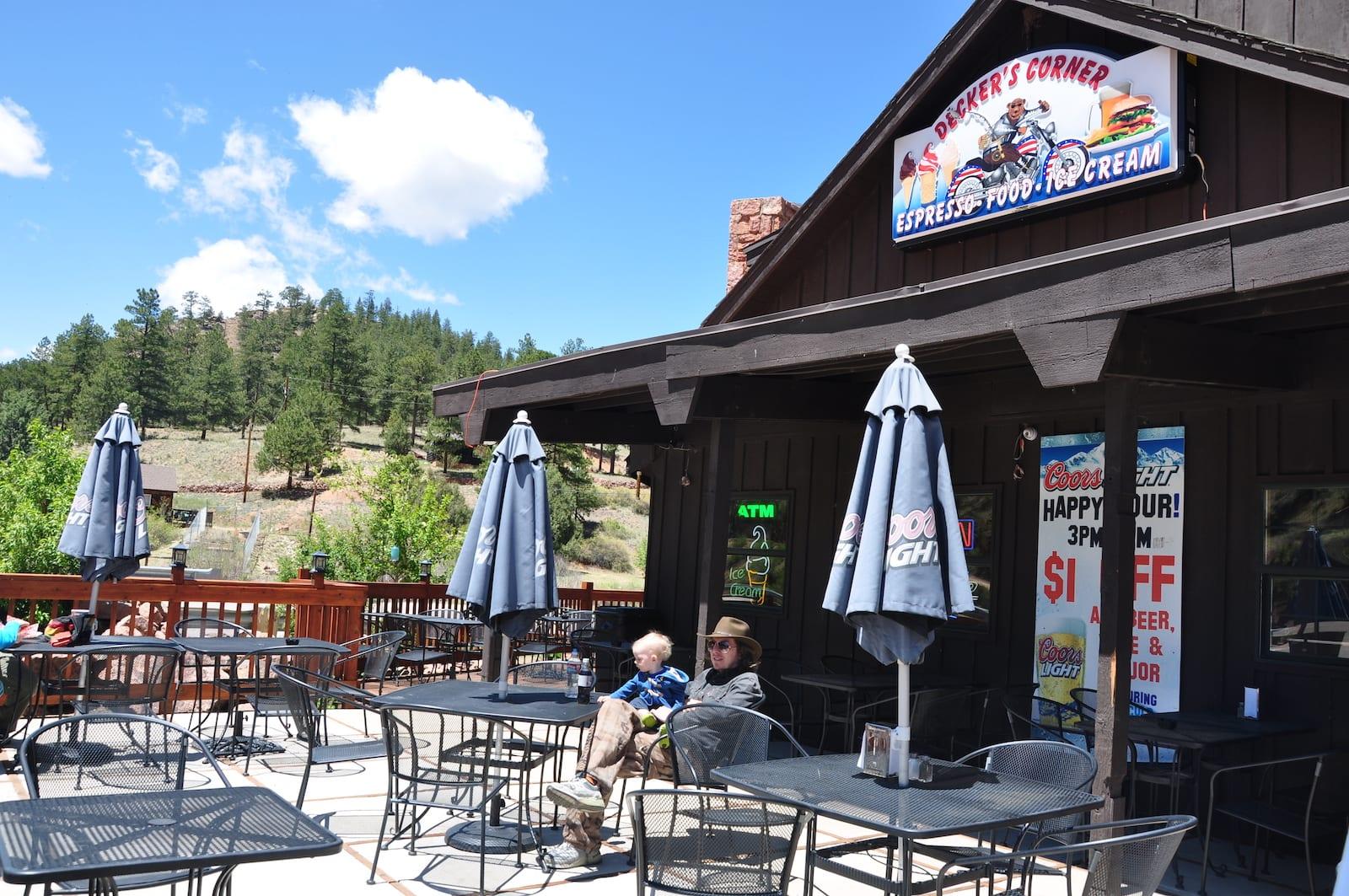 Deckers Colorado Decker's Corner Cafe