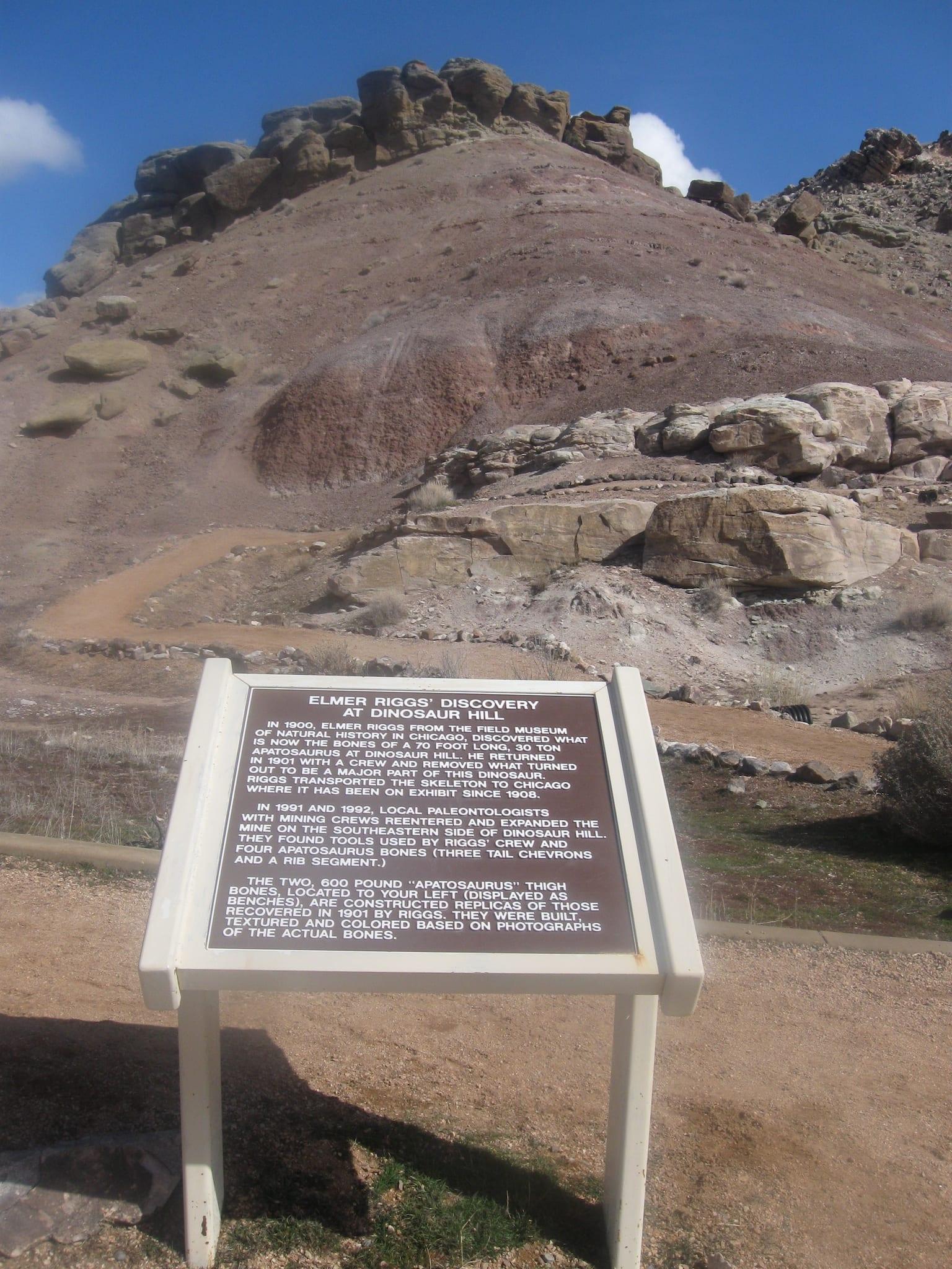 Dinosaur Hill Fruita Colorado