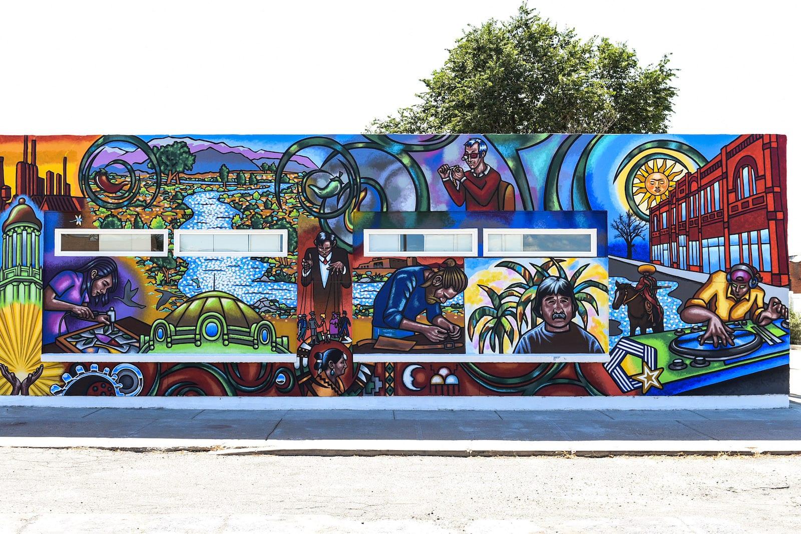 Downtown Pueblo CO Mural