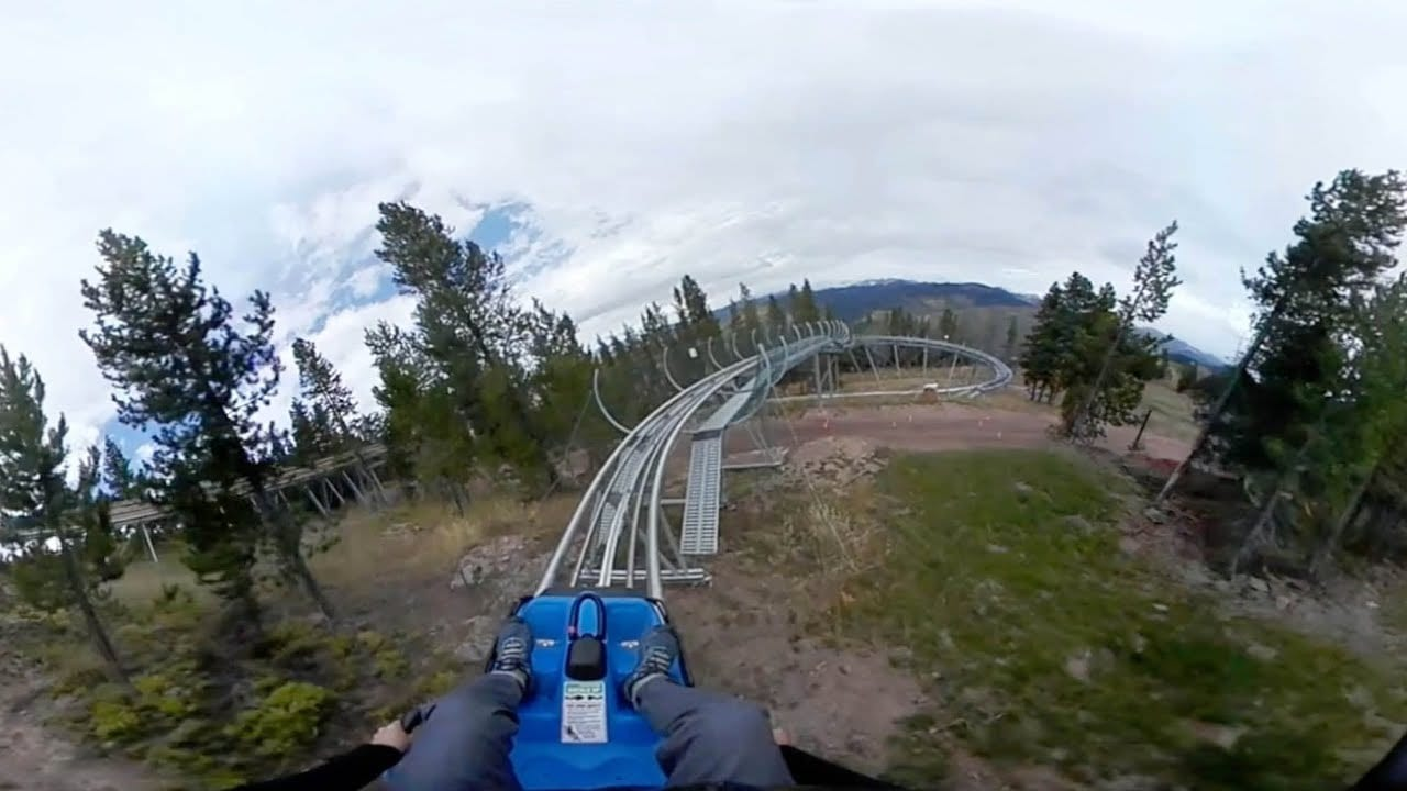 Forest Flyer Mountain Coaster Summer
