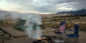 Great Sand Dunes Campground Colorado