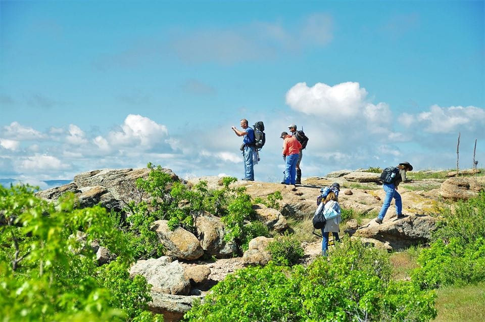guided hikes at cherokee ranch and castle