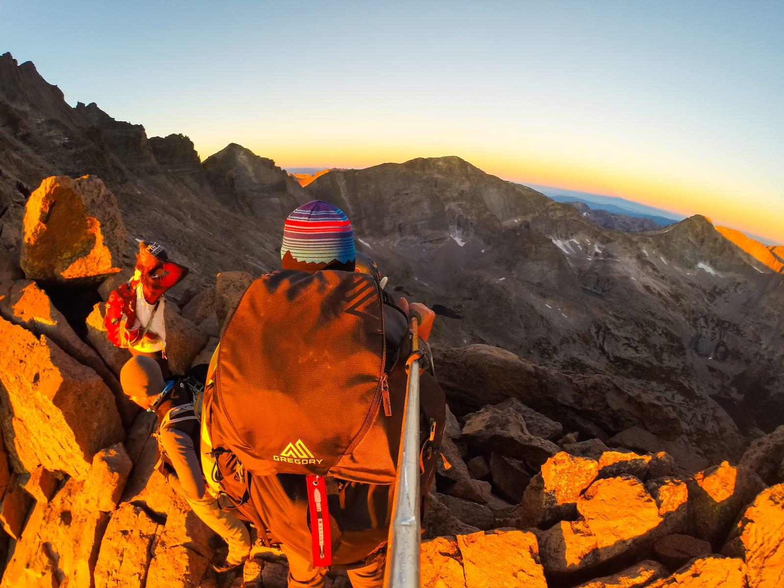 Hiking Etiquette Longs Peak Keyhole Sunrise Colorado
